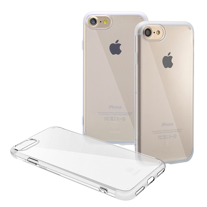 Чехол Baseus Simple Series Clear Apple iPhone 7, iPhone 8 Transparent