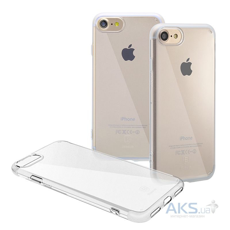 Чехол Baseus Simple Series Clear Apple iPhone 7, iPhone 8 Transparent - фото 2