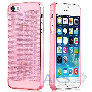 Чехол Vouni Fresh Apple iPhone 5, iPhone 5S, iPhone 5SE Pink