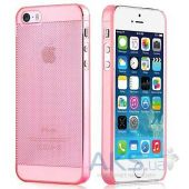 Чехол Vouni Fresh Apple iPhone 5, iPhone 5S, iPhone SE Pink