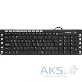 Вид 2 - Клавиатура Defender OfficeMate MM-810 (45810) Black