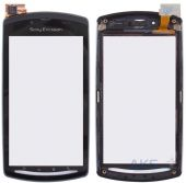 Сенсор (тачскрин) для Sony Ericsson R800, Z1 with frame Original Black