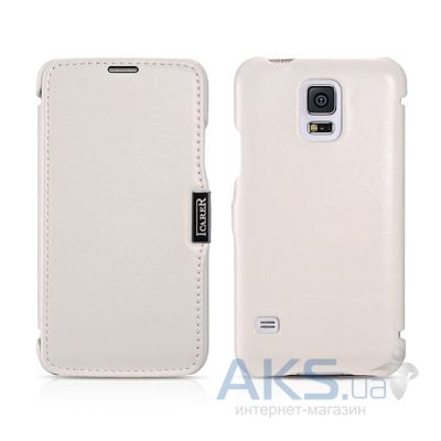 Чехол iCarer Side-open Luxury for Samsung Galaxy S5 White