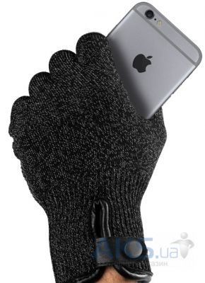Гаджет Mujjo Double-Layered Touchscreen Gloves XL Black