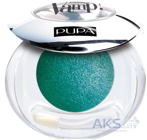 Тени Pupa Vamp Wet & Dry Eyeshadow №300 Изумруд