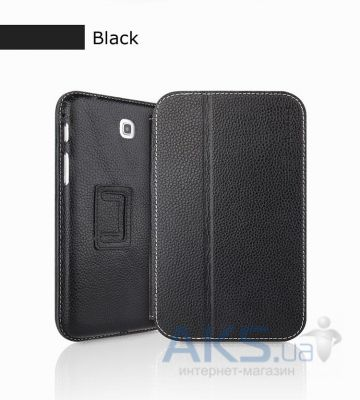 Чехол для планшета Yoobao Executive leather case for Samsung T210/T211 Galaxy Tab 3 7.0 Black (LCSAMP3200-EBK)