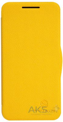 Чехол Nillkin Fresh Leather Series HTC Desire 300 yellow