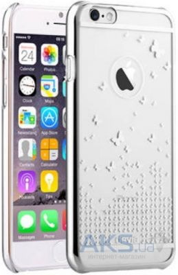 Чехол Devia Butterfly Apple iPhone 6, iPhone 6S Silver