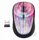 Вид 2 - Компьютерная мышка Trust Yvi Wireless Mouse dream catcher Pink