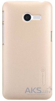 Чехол Nillkin Super Frosted Shield Asus Zenfone 4 A400CG Gold