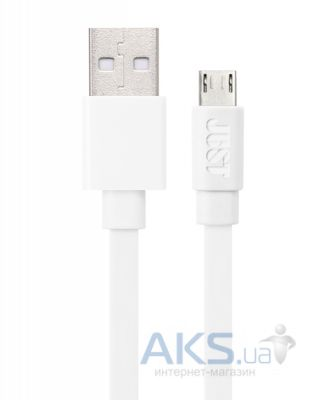 Кабель USB JUST Freedom microUSB Cable White (MCR-FRDM-WHT)