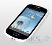 Вид 2 - Чехол Yoobao 2 in 1 Protect case for Samsung i8190 Galaxy S III Mini White (PCSAMI8190-WT)