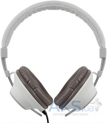 Наушники (гарнитура) Incipio f38 Hi-Fi Stereo Headphones Bright Vintage White