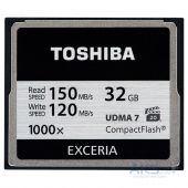 Карта памяти Toshiba Compact Flash 1000X 32GB ( CF-032GTGI(8 )