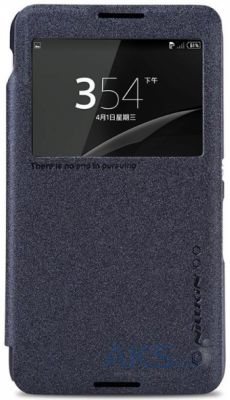 Чехол Nillkin Sparkle Leather Series Sony Xperia E4 E2115 Black
