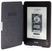 Вид 3 - Обложка (чехол) Amazon Kindle Paperwhite Leather Cover Onyx Black