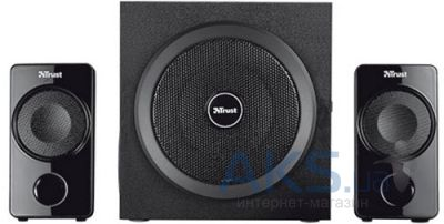 Колонки акустические Trust Atlas 2.1 Subwoofer Speaker Set Black