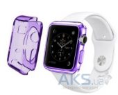 iBest чехол для Apple Watch 38mm TPU Case Purple