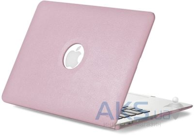 Чехол Kuzy Leather Case for MacBook Air 13 Baby Pink
