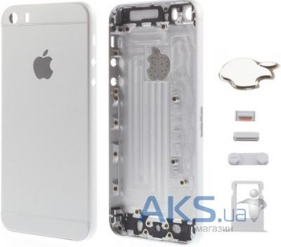 Корпус Apple iPhone 5 в стиле iPhone 6 Exclusive Silver