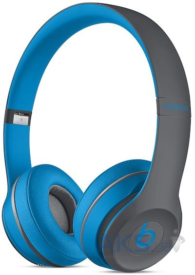 Наушники (гарнитура) Beats Solo2 Wireless Headphones Active Collection Flash Blue