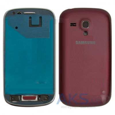 Корпус Samsung I8190 Galaxy S3 mini Vinous