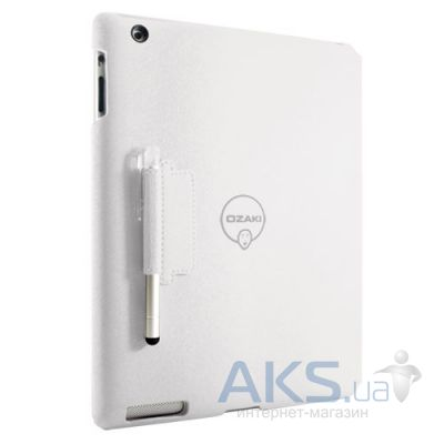 Чехол для планшета Ozaki iCoat Notebook+ for iPad 4/iPad 3/iPad 2 White (IC509WH)