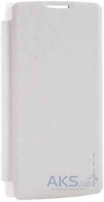 Чехол Nillkin Sparkle Leather Series LG Optimus Y50 Leon H324 White