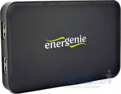 Повербанк power bank Energenie 10000 mAh power bank (EG-PC-008) Black