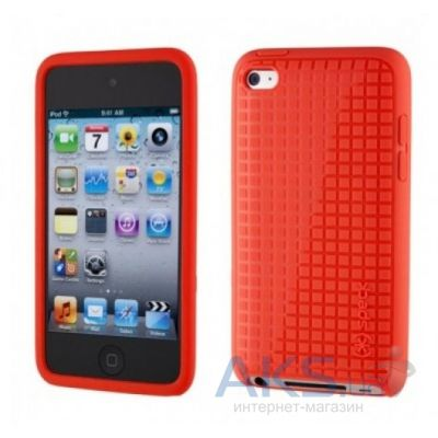 Чехoл Speck PixelSkin HD for iPod Touch 4Gen Red