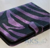 Обложка (чехол) Saxon Case для PocketBook Basic 611/613 Zebra Pink