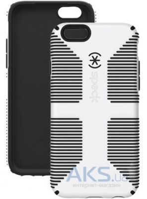 Чехол Speck CandyShell for iPhone 6/6s Grip White/Black (SP-73425-1909)