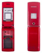 Корпус Samsung E210 Red
