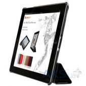 Чехол для планшета JustCase Leather Case For iPad 2/3/4 Black (SS0002)