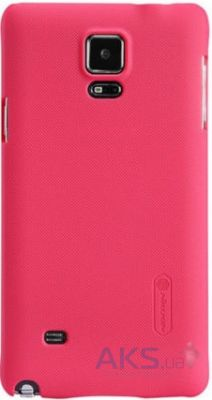 Чехол Nillkin Super Frosted Shield Samsung N910 Galaxy Note 4 Pink