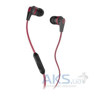 Наушники (гарнитура) Skullcandy Ink'd 2.0 w/mic Black/Red (S2IKDY-010)