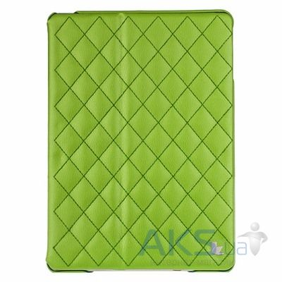 Чехол для планшета JisonCase Microfiber quilted leather case for iPad Air Green [JS-ID5-02H70	]