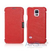 Чехол iCarer Side-open Litchi for Samsung Galaxy S5 Red