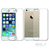Захисна плівка BoxFace Polyurethane Apple iPhone 5, 5S, SE Face and Back Clear