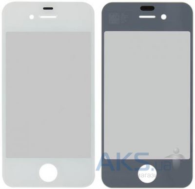 Стекло для Apple iPhone 4, iPhone 4S Original White