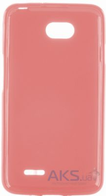 Чехол Melkco Poly Jacket TPU case for LG L80 Dual/D380 Pink