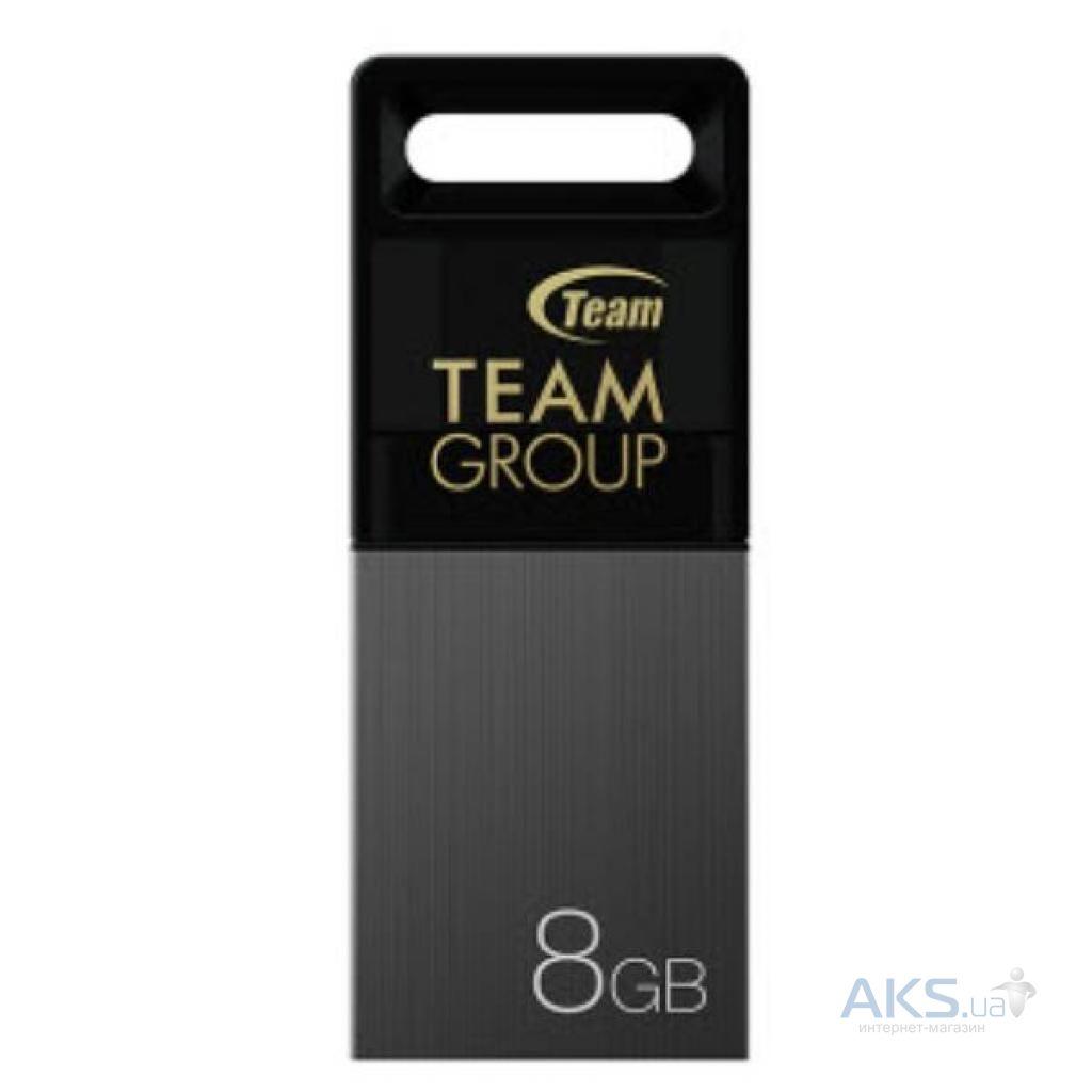 Флешка Team M151 8GB USB 2.0 Gray (TM1518GC01)