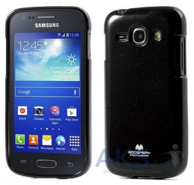 Чехол Mercury TPU Jelly Color Series  Samsung S7272 Galaxy Ace 3 Black