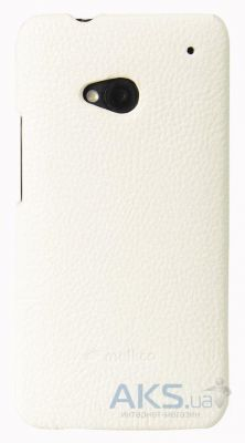 Чехол Melkco Snap leather cover for HTC One White (O2O2M7LOLT1WELC)