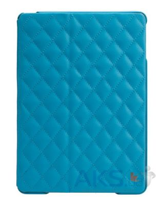 Чехол для планшета JisonCase Microfiber quilted leather case for iPad Air Blue [JS-ID5-02H40]