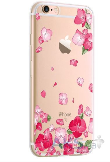 Чехол Original Flower Series Apple iPhone 7 Lotus