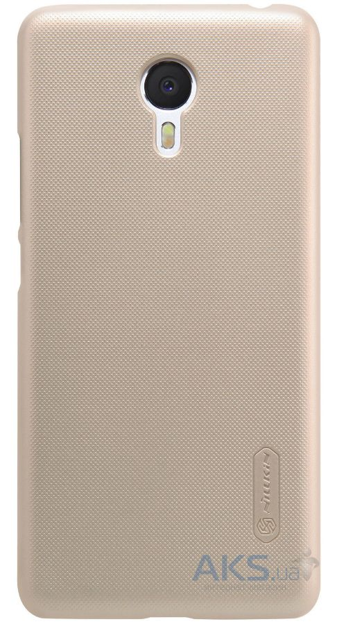 Чехол Nillkin Super Frosted Shield Meizu M3 Note Gold