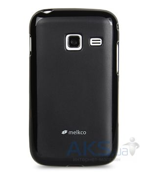 Чехол Melkco Poly Jacket TPU cover for Samsung S6102 Galaxy Y DuoS Black (SS6102TULT2BКМТ)