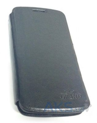 Чехол Grand Book case for LG L80 dual Black