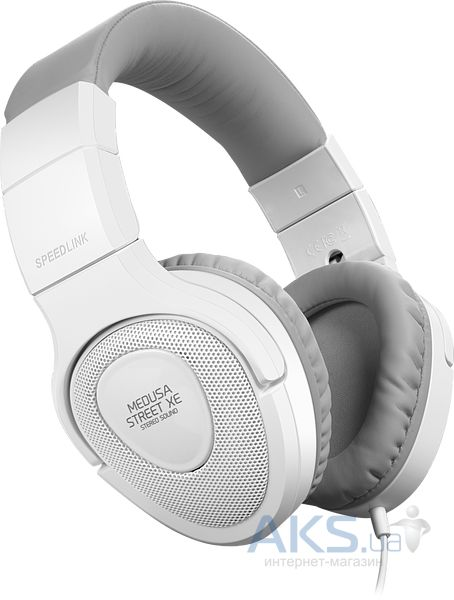 Наушники (гарнитура) Speed Link MEDUSA STREET XE Stereo Headset White